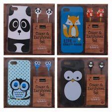 Joblot Wholesale Cute Animals Case Earphones Apple iPhone 5 5s 5c Kids Teens 70