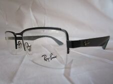 RAY BAN EYEGLASS FRAME RX6331 2822 MATTE BLACK / GREY 52-19-140 NEW & AUTHENTIC