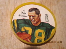 1964 NALLEY'S #49 MIKE WICKLUM CFL Football Western Conference Coin