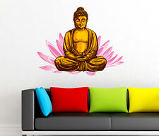 660003 | Wall Stickers Lord Buddha While Meditating For Living Room