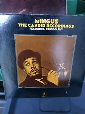 mingus the candid recordings featurning eric dolphy