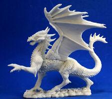DRAGON ARGENT - BONES REAPER figurine miniature jdr rpg d&d winged silver 77329