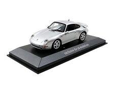 Camiones de automodelismo y aeromodelismo Porsche 911 Turbo color principal plata