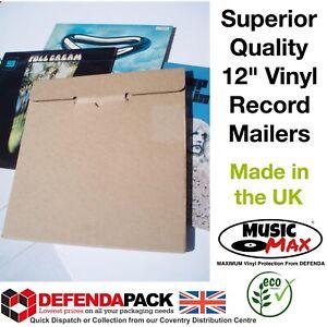 "25 RECORD MAILERS 12"" LP VINYL STRONG LOCKTAB CARDBOARD Albums MusicMax Boxes"