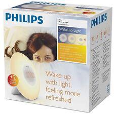 Philips Wake-up Light Sunrise Simulation Bedside Lamp HF3505/01. New