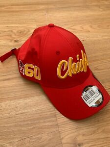 BRAND NEW Kansas City Chiefs Baseball Cap Hat New Era 9Forty Adjustable NFL 99p