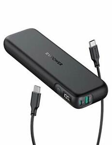 PD Power Bank RAVPower 15000mAh PD 3.0 USB C Portable Charger 30W Power