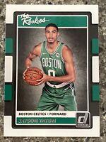 Jayson Tatum Rookie Card Donruss The Rookies Card #3 (PSA 9? PSA 10?)