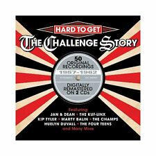 Hard To Get-Challenge Story 1957-1962 2-CD NEW SEALED Jan & Dean/Champs/Riptides