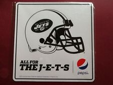 """JETS NFL Football Car Magnet 6""""x6"""" by Pepsi from game day 10/2014"""