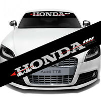 Auto Car Front Reflective Windshield Vinyl Decal Glass Banner for Honda Sticker