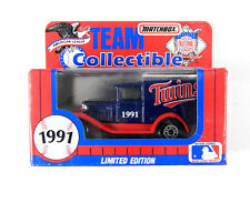 1991 Minnesota Twins Matchbox Team Collectibles Vintage Delivery Truck MLB-91-9