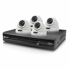 Swann SWNVK-874004D-US 8 Channel 4MP 2TB NVR & 4x 4mp Dome Security Cameras