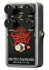 EHX Electro Harmonix Bass Soul Food Distortion / Overdrive / Boost Pedal