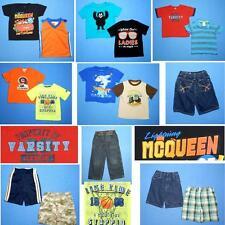 NICE Lot 15pc boys Spring Summer clothing~Sz 3T ~Shorts Tops FAST SHIP~S94