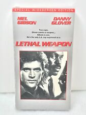 Lethal Weapon ( VHS ) - Mel Gibson  Danny Glover  Widescreen