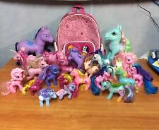 Bulk Lot Of My Little Pony - 22 Ponies & 1 Back Pack