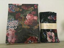 NEW! Vintage Ralph Lauren Cossette Table Cloth & Napkins ~Elegant Floral Vibrant