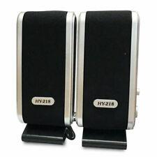 USB Speakers laptop portable multimedia sound music PC desktop TV speakers K1H3