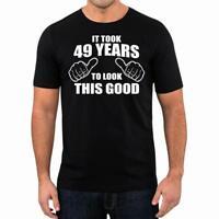 50th Birthday Gift Present Year 1969 Took Years Funny Unisex T-Shirt Tee