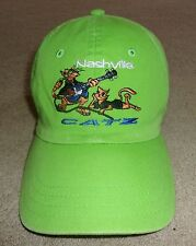 NOS~ NASHVILLE CATZ ~BALL CAP/HAT~HYPGEAR SAMPLE~O/S~BENT BILL SLOUCH~EPIC CROWN