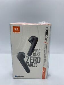 JBL TUNE 220TWS True Wireless In-Ear Bluetooth Headset Headphones - Black - NEW