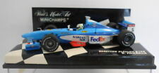 Voitures Formule 1 miniatures en métal blanc pour Benetton 1:43
