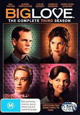 BIG LOVE - COMPLETE THIRD SEASON 3 - BRAND NEW & SEALED DVD (4-DISC)