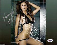 AMANDA BEARD VERY SEXY SIGNED 8X10 PHOTO PSA DNA