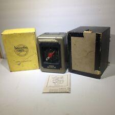 Vintage Time-O-Lite Industrial Timer in Original Box