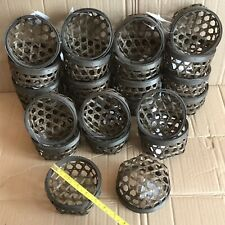 """Job Lot 24x Small Bamboo Basket - Wicker Approx 4"""" Round - Plants, Dining, Gifts"""