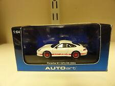 Autoart 1:64 Porsche 911 GT3 RS 2004 Rojo/Blanco