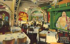 Miami,Florida,Shangri-La Chinese Restarurant,Linen,c.1940-50s