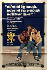 ONE ON ONE Original One Sheet Movie Poster - 1977