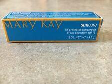 Mary Kay Suncare Lip Protector Sunscreen spf 15 NIB! .16 oz exp 6/18