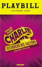 """Christian Borle """"CHARLIE and the CHOCOLATE FACTORY"""" 2017 Opening Night Playbill"""