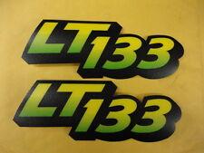 John Deere Genuine OEM Hood Decals AM122875 for the LT133 set of 2