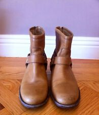 Frye Phillip Harness Ankle/Short Boots Tan US7