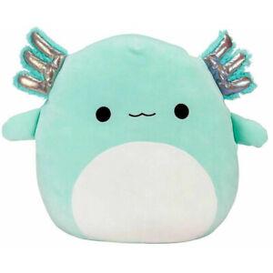 For Squishmallows Plush Stuffed Toy Plush Axolotl Teal Anastasia Doll Toy Kids