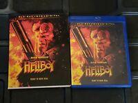 HELLBOY (Blu-ray + DVD, 2 DISC SET, + Slipcover Sleeve)