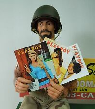 1/6 Scale Vietnam Era Playboy Magazines - set of 3