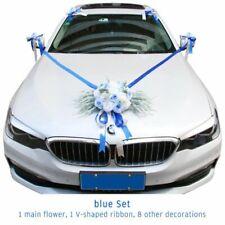 Wedding Car Decor Kit Silk Fake Rose Peony Flowers Artificial Flower Valentine's