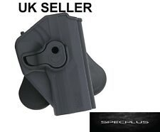 IMI STYLE RIGHT HANDED POLYMER HOLSTER ROTATION H&K USP/ USP COMPACT BLACK UK