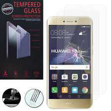 """2X Safety Glass for Huawei P8 Lite (2017) 5.2 """" Genuine Glass Screen Protector"""