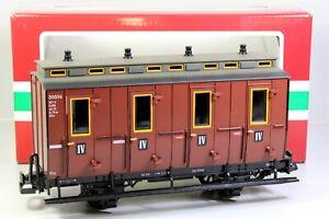 Spur G LGB 30504 2- achsiger Abteilwagen IV. Klasse, OVP