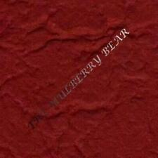 5 Burgundy Extra Thick Handmade mulberry paper wine maroon Invitations Cards