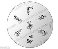 IMAGE PLATE M36-1 Konad Stamping Nail Art Design Nails Template USA SELLER