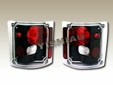 1973-1991 GMC C/K C10 SUBURBAN/BLAZER FULLSIZE BLACK TAIL LIGHTS 88 85 90 75