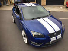 FORD FOCUS ST RS MK2 STRIPES GRAPHICS STICKERS DECAL CAR VINYL TWIN STRIPE
