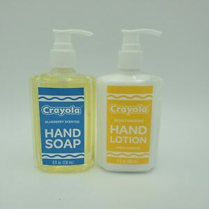 Crayola Scented Hand Soap and Lotion Kids School Daycare